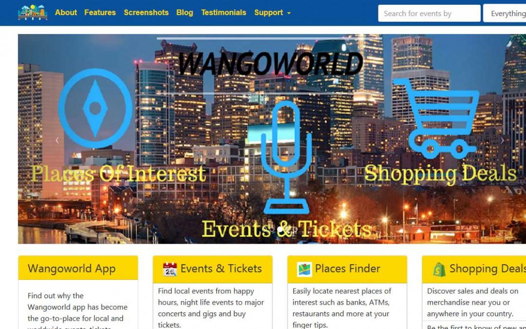 Wangoworld website